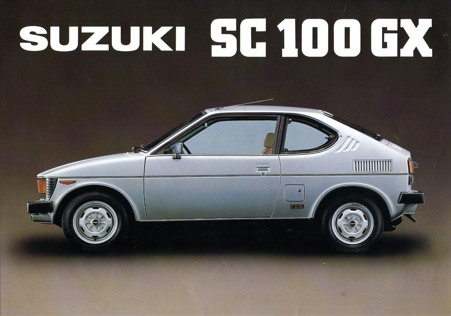 Suzuki Fronte coupé SuzukiSC100GX530