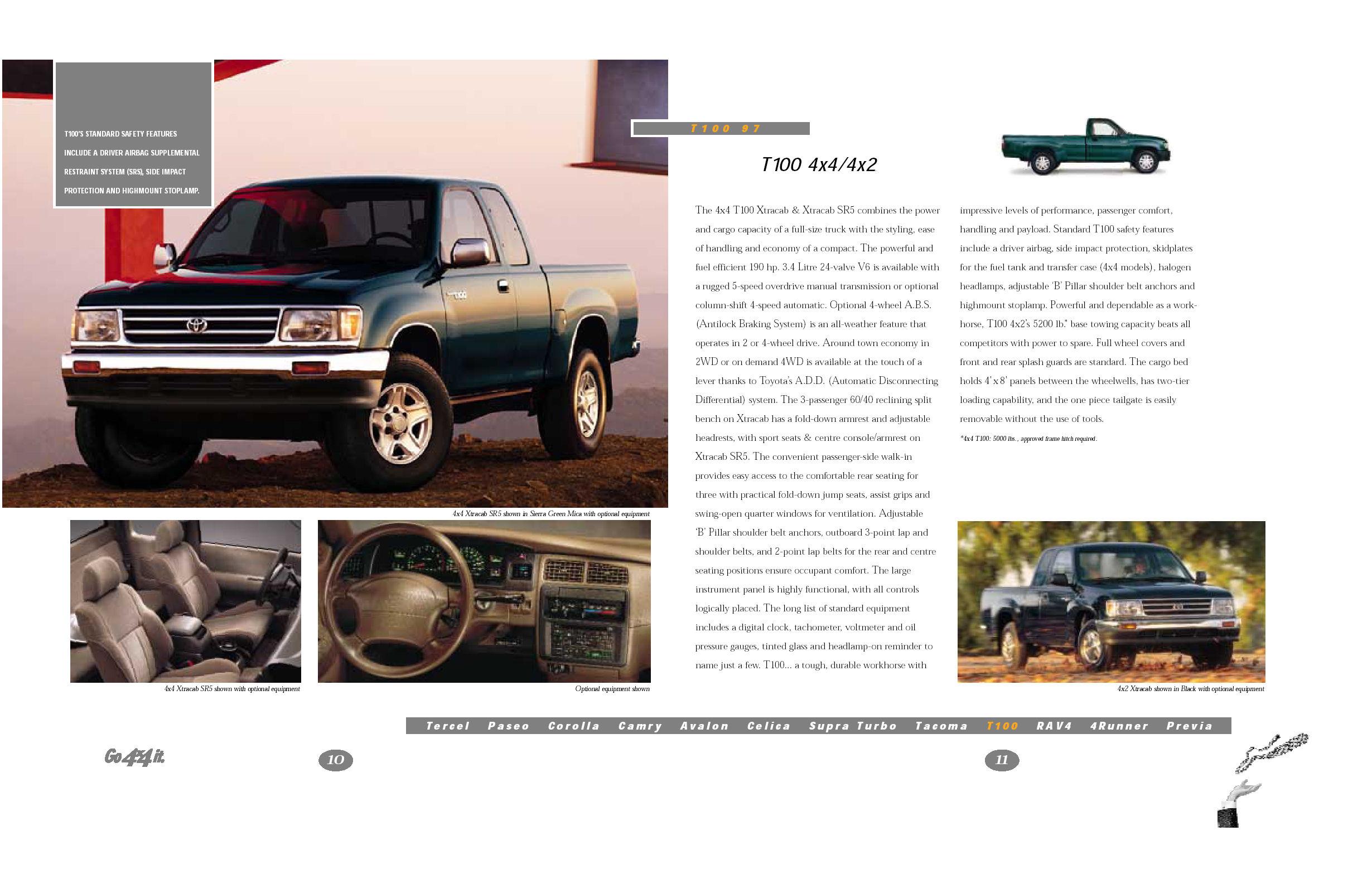 1997 Toyota Tacoma Brochure