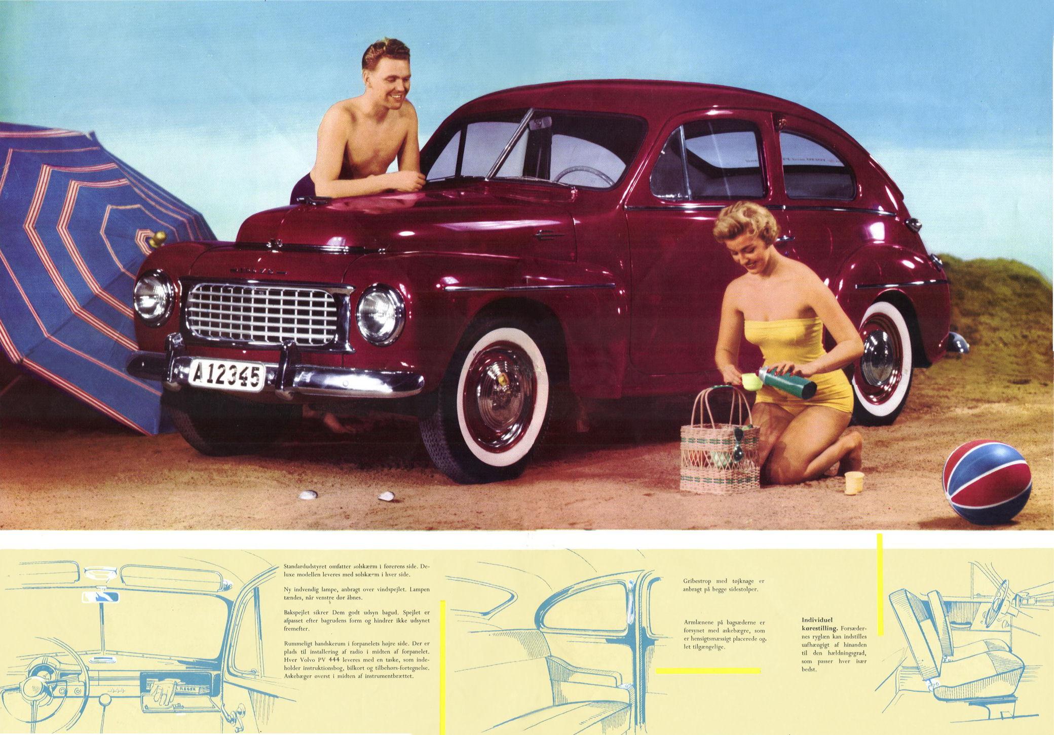 volvo pv 444 brochure rh storm oldcarmanualproject com 1944 Volvo 1944 Volvo